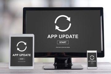 Smartphone und Tablet Software Aktualisierung
